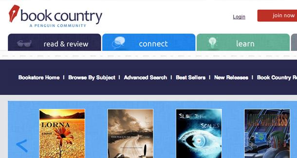 Book Country eBookstore