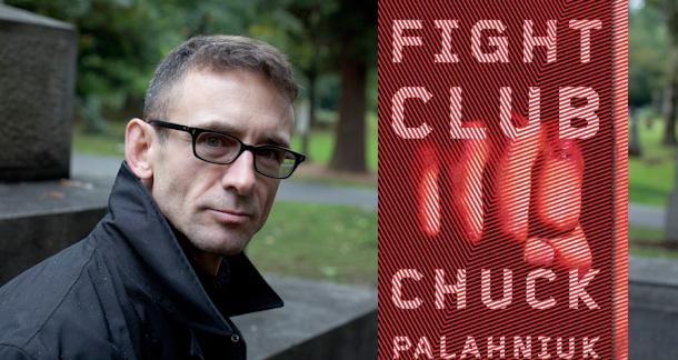 Chuck Palahniuk.  Photo by Tim Lebarge