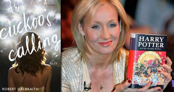 J.K. Rowling is Robert Galbraith
