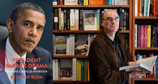 Obama Kindle Singles Interview, Oren Teicher