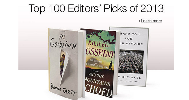 Amazon Announces its Best Books of 2013