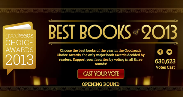 Voting for Goodreads Choice Awards Now Open