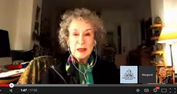 Margaret Atwood, Alice Munro Hang Out on Google