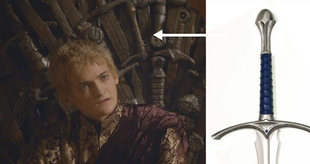 Eagle-Eyed Redditor Discovers Gandalf's Sword in Iron Throne