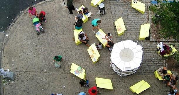 Uni Project Brings Pop-Up Reading Rooms To NYC