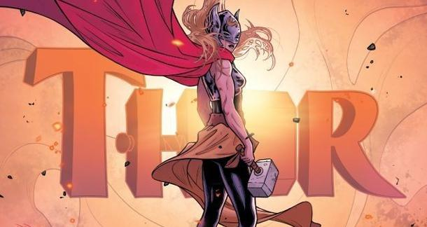 Marvel's Female Thor Attacks Critics in Latest Issue of Comic
