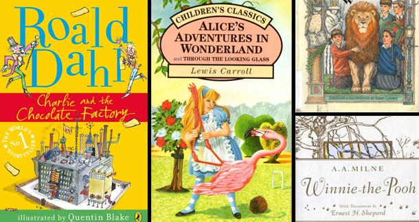 Top 50 Books that Children should read by 16