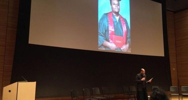Poet's Artistic Read of Michael Brown's Autopsy Report Causes Uproar