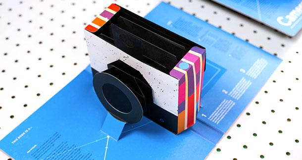 Pop-Up Book Features Working Camera