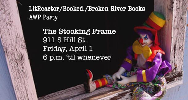 AWP, Booked, Broken River Books, Meetup