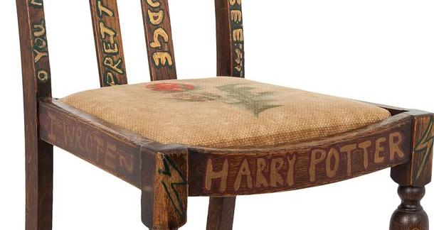 J.K. Rowling's Writing Chair Up For Auction