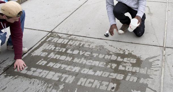When It Rains, It Poems: Boston's Poetry Project