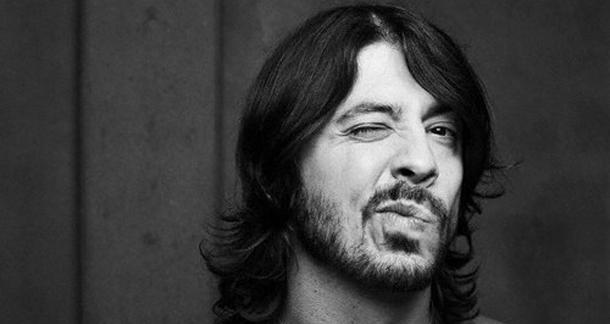 Dave Grohl (wink, wink... nudge, nudge...)