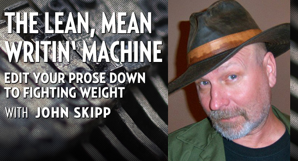 Lean, Mean Writin' Machine with John Skipp