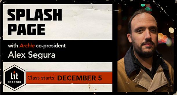 Splash Page with Alex Segura