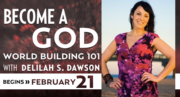 Become a God with Delilah S. Dawson