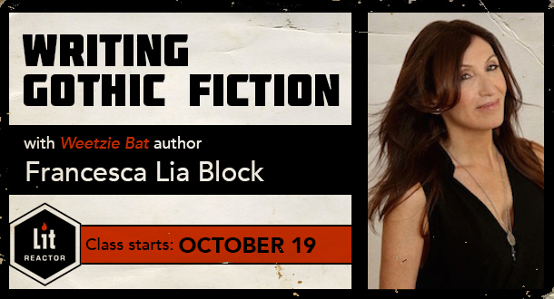 Writing Gothic Fiction with Francesca Lia Block