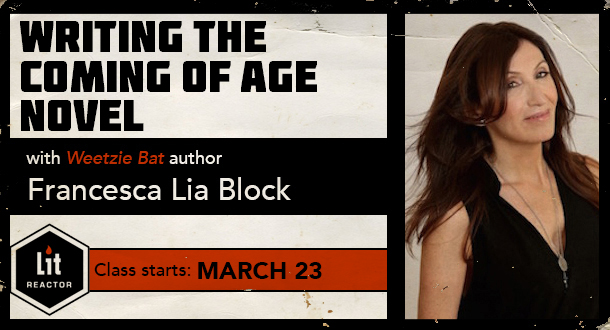 Writing the Coming of Age Novel with Francesca Lia Block
