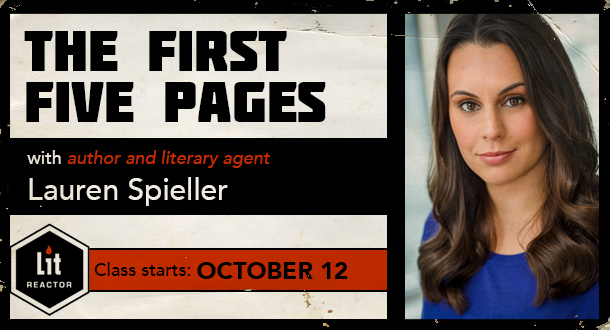 The First Five Pages with Lauren Spieller