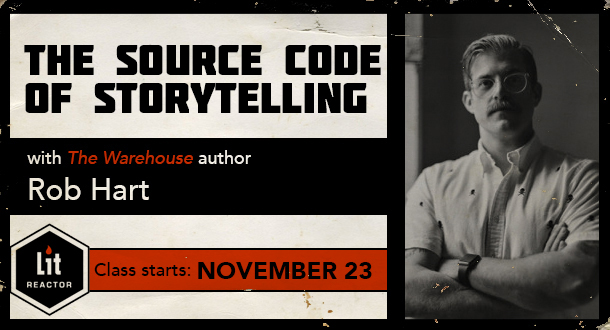 The Source Code of Storytelling with Rob Hart