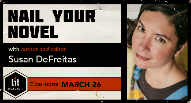Nail Your Novel with Susan DeFreitas