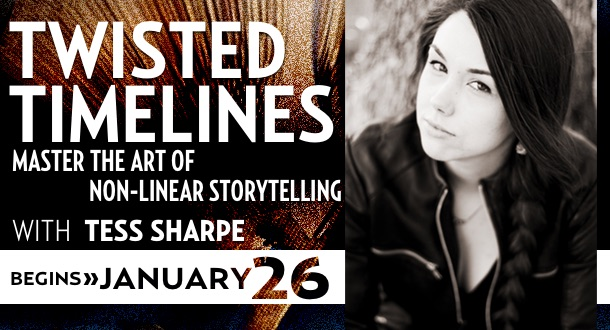 Twisted Timelines with Tess Sharpe