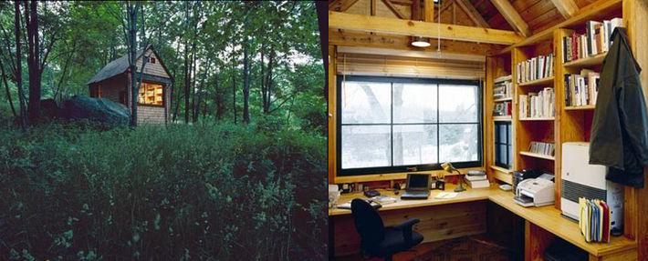 writing shed