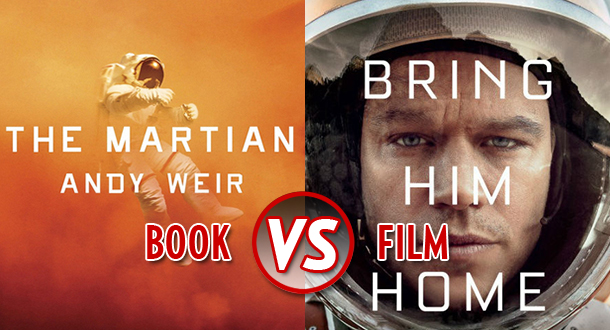 Book vs film the martian litreactor ccuart Choice Image