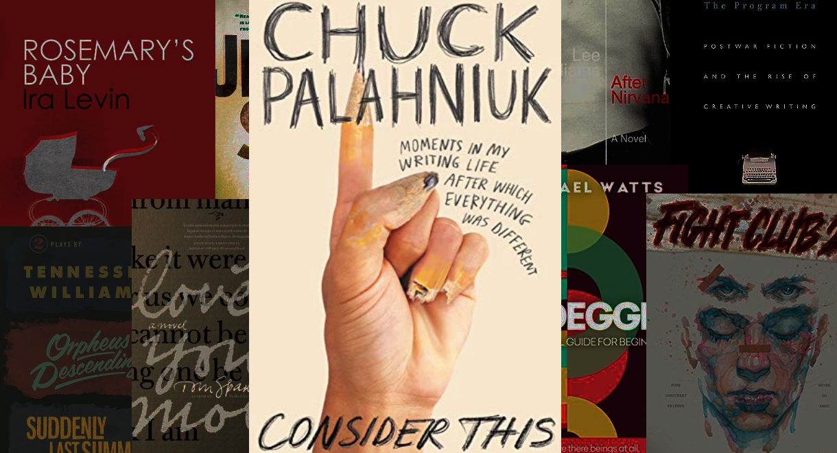 Chuck Palahniuk's 'Consider This': A Reading List