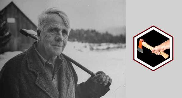 thesis statement robert frost biography