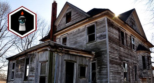Lurid Location Location Location Haunted House