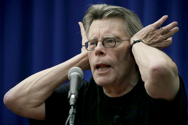 Image result for Stephen King angry