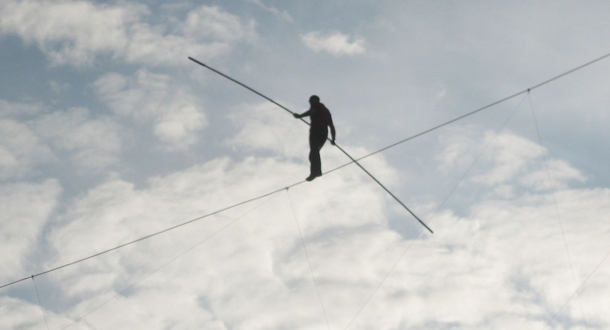 walking ethical tightrope