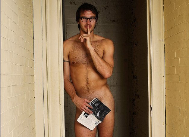 Male Librarians Get Naked To Raise Money For It Gets -3976
