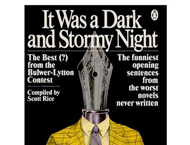 Bulwer-Lytton Fiction Contest